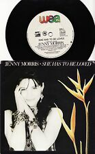 "JENNY MORRIS - SHE HAS TO BE LOVED Very rare 1989 OZ 7"" P/S Single Release! M-"