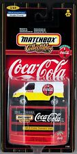 Matchbox Coca-Cola Collectibles 1955 Ford Transit Van New On Card