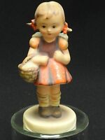 FABULOUS HUMMEL GOEBEL SCHOOL GIRL FIGURINE 81 2/0 FULL BEE TMK2 * GERMANY