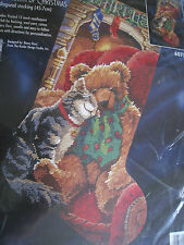 Bucilla Holiday Needlepoint Stocking Kit,THE WARMTH OF CHRISTMAS,Rossi,60753,18""