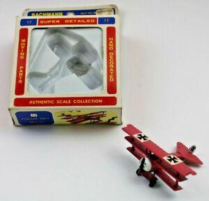 Vintage Bachmann Mini Planes #17 Fokker DR-1 - 8317:79