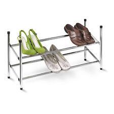 2 Tier Extendable Sturdy Metal Shoe Rack