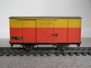 LGB Box Van Conversion SAT LINK Livery 45mm Gauge Garden Railway G Scale