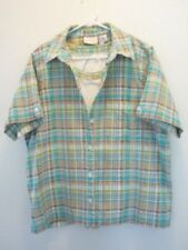 ALFRED DUNNER WOMAN'S  BLOUSE BLOUSE & TANK TOP, SIZE  16W