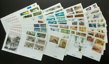 China 1998 Best Buy Offer Lot FDC & B-FDC (26 Issues 79v Stamps on 34 covers)