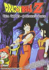 NEW Dragon Ball Z Cell Games MOVIE A Moments Peace DVD BALLZ Uncut Edition BALLS