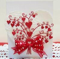 Heart Bouquet Metal Cutting Dies Scrapbooking Card Making Embossing Die cut DIY