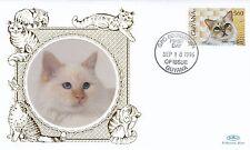 (01744) Guyana Benham FDC Cats 18 September 1996