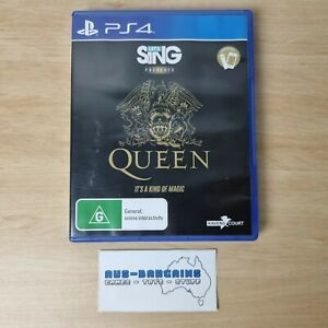 Let's Sing presents QUEEN - It's a Kind of Magic - PS4 PlayStation 4 R4 AUS PAL