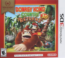 Donkey Kong Country Returns (Select)  3DS New Nintendo 3DS, Nintendo 3DS