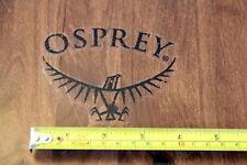 Osprey Backpacks Sticker Decal Black