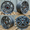 17x8 Gun Metal Wheels Fits Toyota 4Runner Tacoma 17 Inch 6x139 +5 Rims Set 4