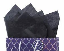 """100 Pack - Black Tissue Paper - 20"""" x 30"""" - Jumbo Gift Wrap Paper Bulk Ream"""