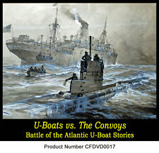 6-films U-BOAT Submarine vs CONVOY Atlantic War WW2 DVD