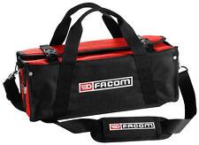 "FACOM TOOLS 16"" SOFT FABRIC BLACK RED TOOL BAG  - 430 x 180 x 170mm"