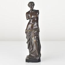 Antique French Bronze Sculpture Figurine Venus De Milo 1910s Grand Tour Souvenir