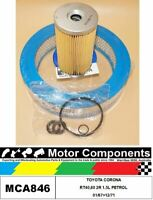 FILTER SERVICE KIT for TOYOTA CORONA RT40,80 2R 1.5L PETROL 01/67>12/71