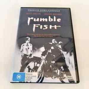 Rumble Fish (DVD, 2013) 1983 Film, Matt Dillon, Mickey Rourke R4