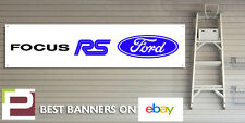 Ford Focus RS Mk2 Banner for Workshop, Garage, Office, PVC with eyelets