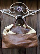 Jas M B London Distressed Rustic Leather Wings Traveler Safari Travel Doctor Bag