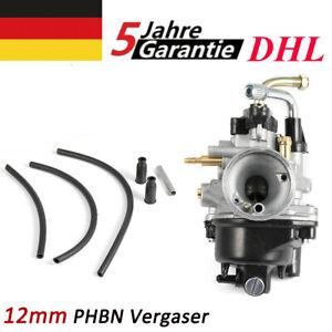12mm PHBN Vergaser  Für Yamaha Aerox BW MBK Aerox Booster Aprilia - DHL - DE