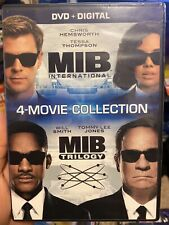 Men in Black: 4-Movie Collection (Dvd) New