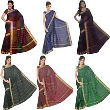 Bollywood Sari Kleid Regenbogen - in 6 Farben verfügbar