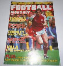 Football Monthly Magazine Aug 1981 Swansea Team Group + Club Focus. Wales