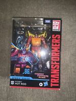 TRANSFORMERS STUDIO SERIES HOT ROD VOYAGER Class 86-04 MOVIE IN HAND US Seller