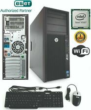 HP Gaming Z420 Tower Intel Xeon 3.60GHz 32GB 1TB SSD Win 10 Pro GTX 1060 3g