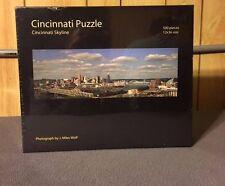 Cincinnati Puzzle Cincinnati Skyline 500 Pieces size 12X36