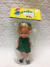 Vtg Tini Tots Little Nan Baby Doll made in Hong Kong for Philip Krokow Co.