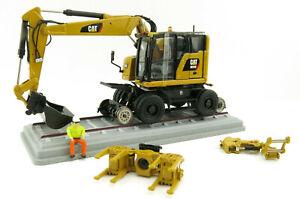Diecast Masters 85662 - M323F Railroad Wheel SY Excavator CAT Colors Scale 1:50