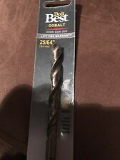 Do it Best Cobalt Drill Bit 25/64
