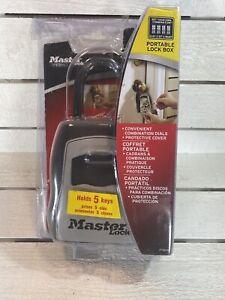 Master Lock 5400D Portable Box Holds Up To 5 Keys - Key Holder Secure Lock Box