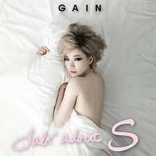 GAIN-[TALK ABOUT S] 2nd Mini Album CD+Photo Book K-POP Sealed Brown Eyed Girls