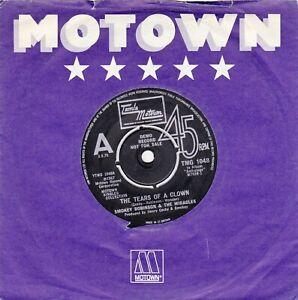 Smokey Robinson & The Miracles The Tears of a Clown TMG 1054 MOTOWN DEMO 45