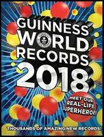 NEW Guinness World Records 2018 Hardcover Free Express Shipping