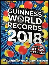 NEW Guinness World Records 2018 Hardcover Free Shipping