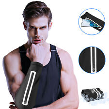 Arm Sleeves Band Armband Sport Cell Phone Holder Pouch Running Jogging Exercise