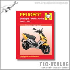 Peugeot Speedfight, Trekker, Vivacity (96-08) - Repair Manual Haynes