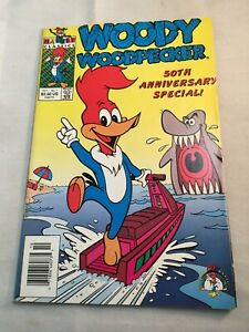 Woody Woodpecker - Comic - Harvey - 50th Anniversary - #1, Oct 1991 - P2971