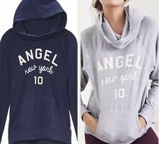 Victorias Secret Hoodie Sweatshirt Pullover Oversized Funnel Neck ANGEL NY M New