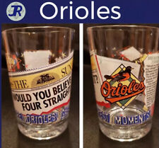 Baltimore Orioles Baseball Champions Glass Tumbler McDonalds Baltimore Sun 1966