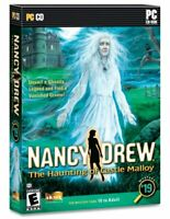NANCY DREW * THE HAUNTING OF CASTLE MALLOY * MYSTERY #19 * PC CD GAMES