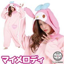 Sanrio My Melody Fleece Kigurumi Cosplay Costume SAZAC From Japan
