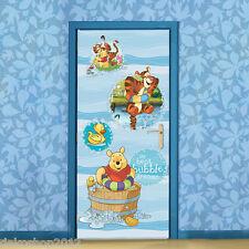 Vlies Tür KINDER Fototapete Tapeten Poster DISNEY WINNIE POOH 808 VET