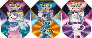 Pokemon Frühjahres Tin Box 2021 (Mew,Lucario,Lahmus) Deutsch