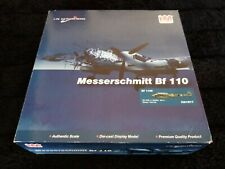 2011 Hobbymaster HA1811 MESSERSCHMITT Bf 110E Hornet Face Nose ZG 1Zerstörer