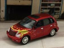 2002 02 Chrysler PT Cruiser Hot Rod Flame Paint 1/64 Scale Limited Edition T2